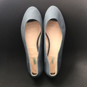 Urban Outfitters blue flats